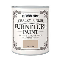 Rust-Oleum Chalky Furniture Paint Butterscotch 125ml