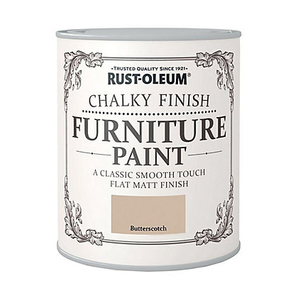 Image for Rust-Oleum Chalky Furniture Paint Butterscotch 125ml from StoreName