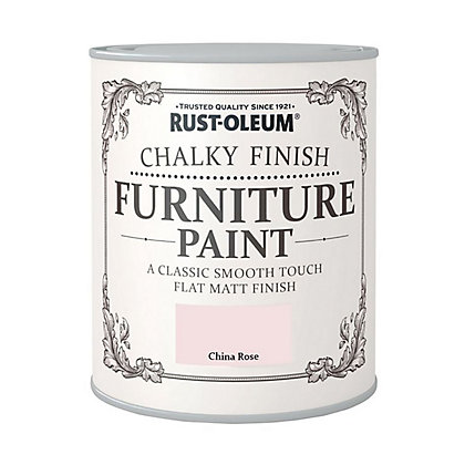 Image for Rust-Oleum Chalky Furniture Paint China Rose 125ml from StoreName