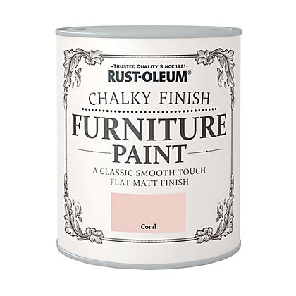 Image for Rust-Oleum Chalky Furniture Paint Coral 125ml from StoreName