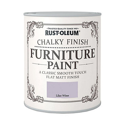 Image for Rust-Oleum Chalky Furniture Paint Lilac Wine 125ml from StoreName