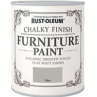 Rust-Oleum Chalky Furniture Paint Flint 125ml