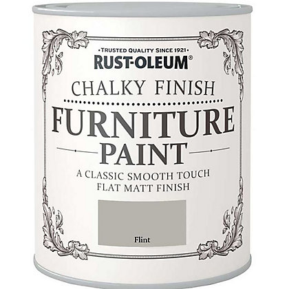 Image for Rust-Oleum Chalky Furniture Paint Flint 125ml from StoreName