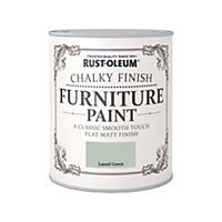Rust-Oleum Chalky Furniture Paint Laurel Green 750ml
