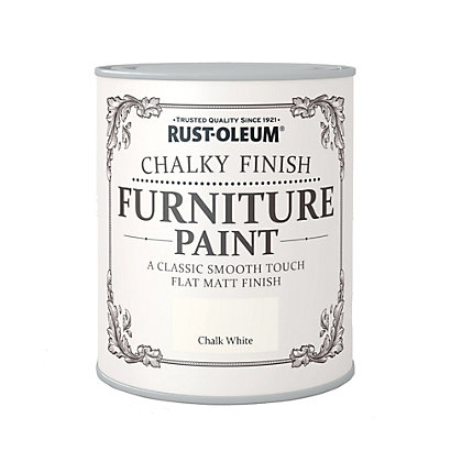 Image for Rust-Oleum Chalky Furniture Paint Chalk White 2.5L from StoreName