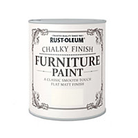 Rust-Oleum Chalky Furniture Paint Antique White 2.5L