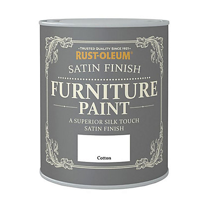 Image for Rust-Oleum Satin Furniture Paint Cotton 125ml from StoreName