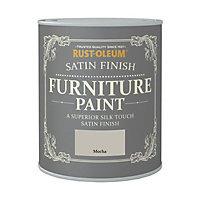 Rust-Oleum Satin Furniture Paint Mocha 125ml