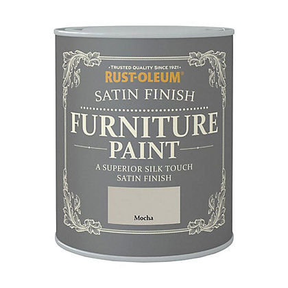 Image for Rust-Oleum Satin Furniture Paint Mocha 125ml from StoreName