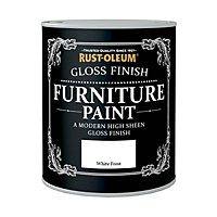Rust-Oleum Gloss Furniture Paint White Frost - 125ml
