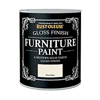 Rust-Oleum Gloss Furniture Paint Porcelain 125ml