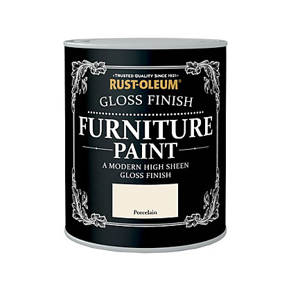 Image for Rust-Oleum Gloss Furniture Paint Porcelain 750ml from StoreName
