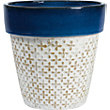 Moroccan Deep Blue Terracotta Planter - 2 Designs Available