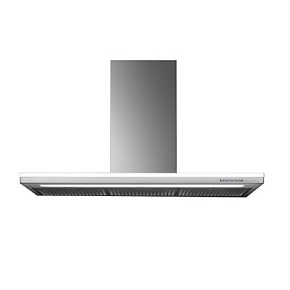 Image for Falmec Lumen Flat Island Mounted Chimney Hood - 90cm - Stainless Steel from StoreName