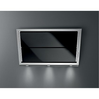 Image for Falmec Gleam Stainless Steel & Glass Wall Cooker Hood - 90cm from StoreName