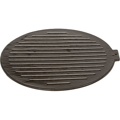 Image for Outback Cast Iron BBQ Griddle Plate from StoreName