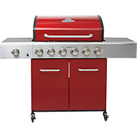 Outback Saturn 6 Burner Gas BBQ - Home Delivery
