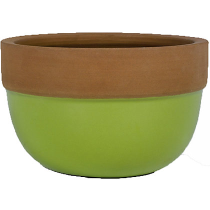 Image for Madagascar Glazed Bowl in Green - 34cm from StoreName