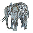 Decorative Light Up Solar Elephant Garden Ornament