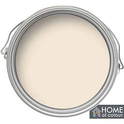 Image for Home of Colour Magnolia - Silk Emulsion Paint - 5L from StoreName