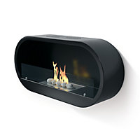 Imagin Marlow Black Bio Ethanol Fireplace