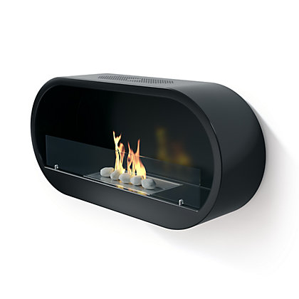Image for Imagin Marlow Black Bio Ethanol Fireplace from StoreName