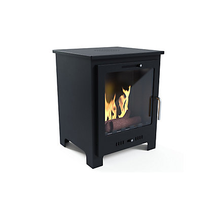 Image for Imagin Malvern Black Bio Ethanol Fireplace from StoreName