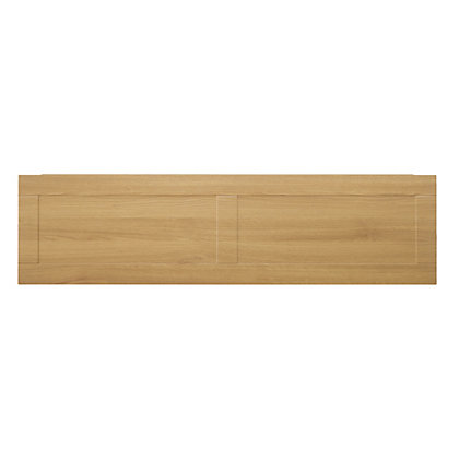 Image for Winslow Shaker Bath Front Panel 1700mm - Oak from StoreName