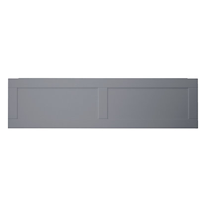 Image for Henley Shaker Bath Front Panel - 1700mm - Grey from StoreName