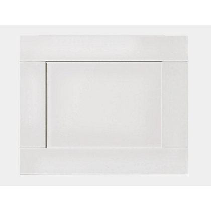 Image for Winslow Shaker Bath End Panel - 700mm - White from StoreName