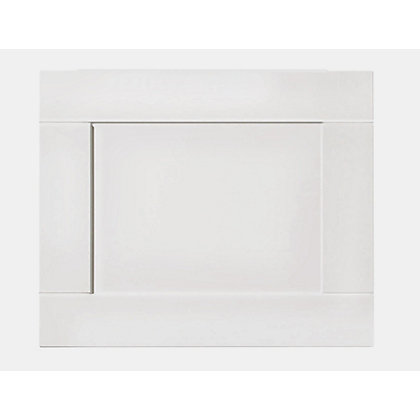 Image for Winslow Shaker Bath End Panel - 750mm - White from StoreName