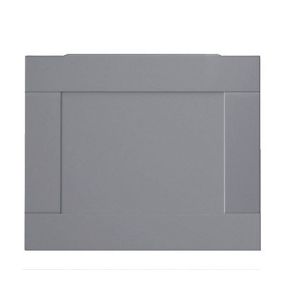 Image for Henley Shaker Bath End Panel - 750mm - Grey from StoreName