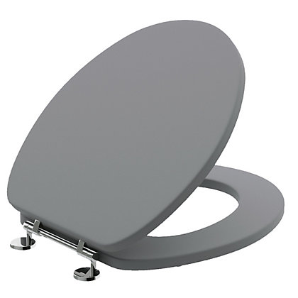 Image for Henley Toilet Seat Grey from StoreName