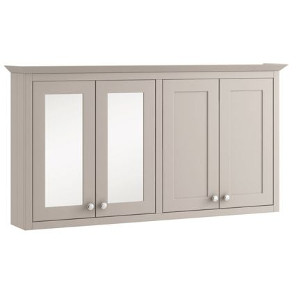 Schreiber Breeze Mirrored Wall Cabinet and Wall Unit   Light Grey. Search Results