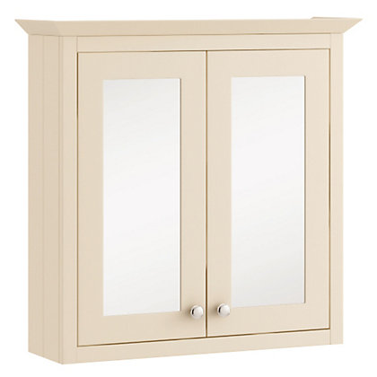 Image for Schreiber Mirrored Wall Cabinet - Linen from StoreName