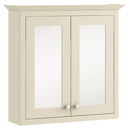 winchester single bathroom wall unit only white