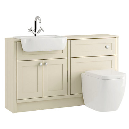 Image for Schreiber Sage Vanity Cabinet and WC Base Unit from StoreName