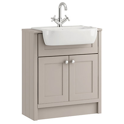 Image for Schreiber Vanity Cabinet - Breeze from StoreName