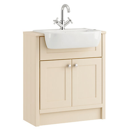 Image for Schreiber Vanity Unit - Linen from StoreName