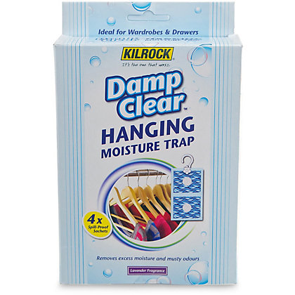 Image for Kilrock Damp Clear Hanging Moisture Trap from StoreName