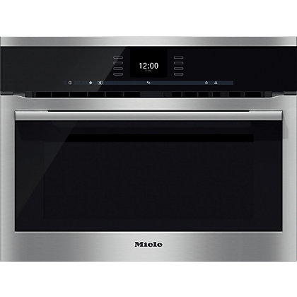 Image for Miele H6500BM SensorTronic Compact Combination Microwave Oven from StoreName