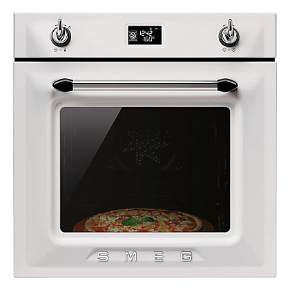 Image for Smeg SFP6925BPZ Victoria Pyrolitic Multifunction Oven - White - 60cm from StoreName