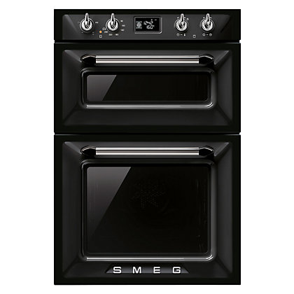 Image for Smeg Victoria Double Oven - 60cm - Black from StoreName