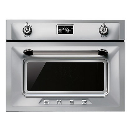 Image for Smeg Stainless Steel Compact Combination Steam Oven - 45cm from StoreName