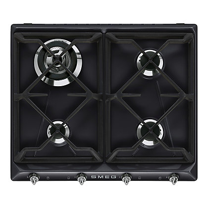 Image for Smeg Victoria Gas Hob - 60cm - Black from StoreName