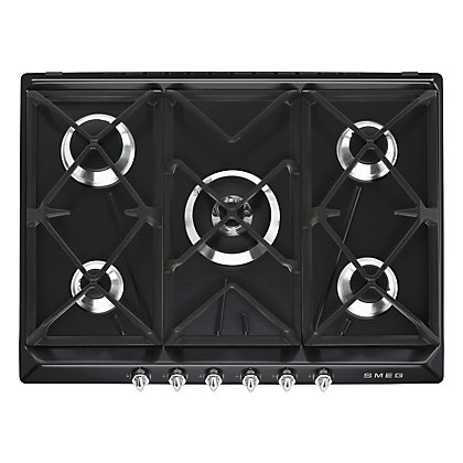 Image for Smeg Victoria Gas Hob - 69cm - Black from StoreName