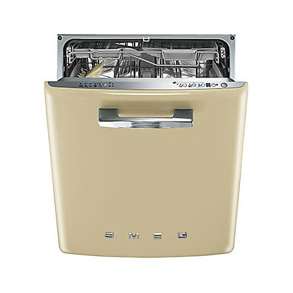 Image for Smeg Retro 50s Style Built-in Dishwasher - Cream from StoreName
