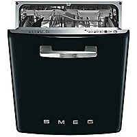Smeg Retro 50s Style Built-in Dishwasher - Black