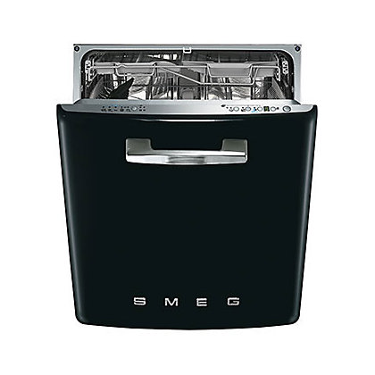 Image for Smeg Retro 50s Style Built-in Dishwasher - Black from StoreName