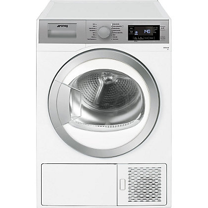 Image for Smeg DHT81LUK Freestanding Condenser Dryer - White from StoreName